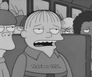 simpsons, the simpsons, and grunge image