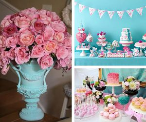 blue, decoration, and party image