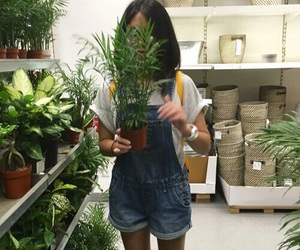 plants, girl, and aesthetic image