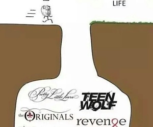 teen wolf, pretty little liars, and revenge image