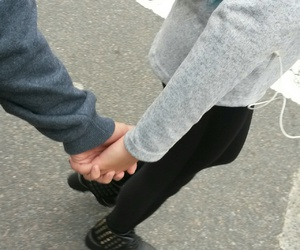 boy, couple, and love image