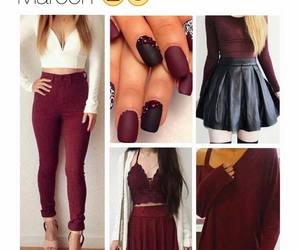 nails and outfit image