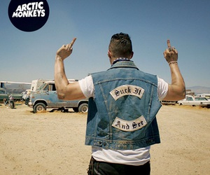 arctic monkeys, suck it and see, and matt helders image