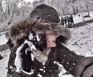 Central Park, cold, and new york image