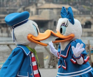 disney, daisy, and duck image