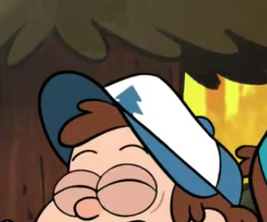 dipper, gravity falls, and wallpaper image