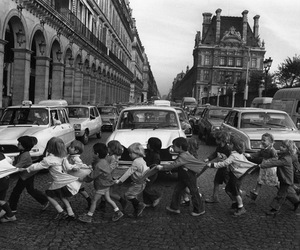 child, kids, and black and white image