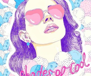 lana del rey, background, and shades of cool image