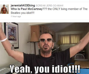 ringo starr, lol, and the beatles image