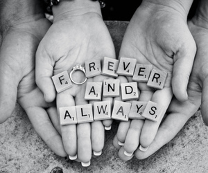 always, forever, and love image