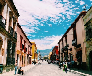 clouds, colors, and mexico image