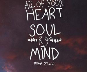 god, heart, and soul image