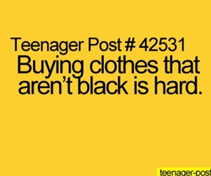 clothes, black, and funny image