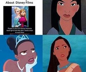 disney princess, frozen, and mulan image
