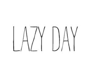 Lazy and quote image