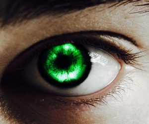 aesthetic, fictional character, and emerald eyes image
