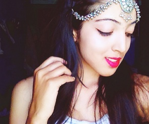 beauty, indian, and fashion image
