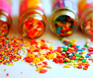 candy, sweet, and sprinkles image