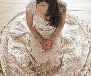 wedding, dress, and indian image