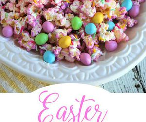 happy easter and popcorn image