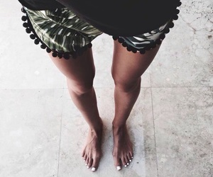 summer, legs, and tan image