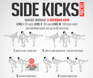 EXCERCISE, fitness, and kick image