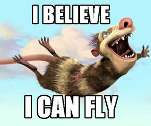 ice age, believe, and funny image