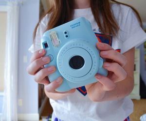blue, tumblr, and camera image