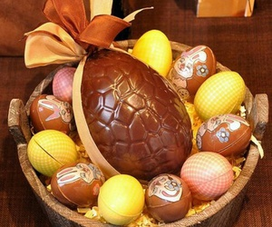 chocolate, delicious, and easter image