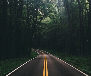 road, travel, and adventure image