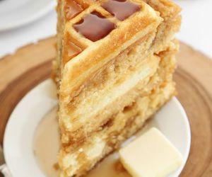 cake and waffles image