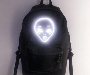 alien, black, and grunge image