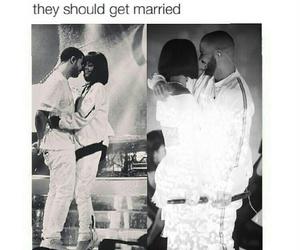 boyfriend, couple, and Drake image
