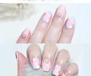 elegant, etude house, and manicure image