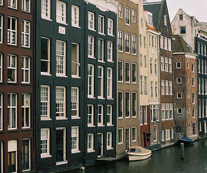 city, vintage, and amsterdam image