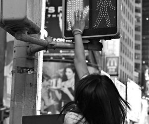 girl, city, and high five image