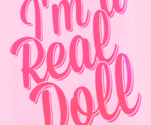 doll, pink, and barbie image