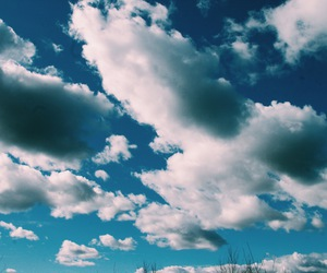 clouds, sky, and spring image