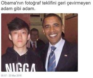 funny, obama, and turkey image