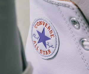 converse, leather, and shoes image