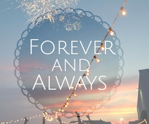 always, forever, and hearts image
