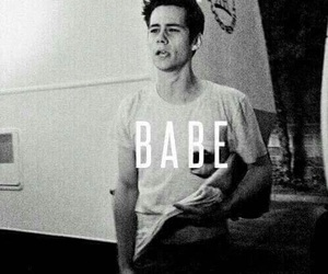 babe, teen wolf, and dylan o'brien image