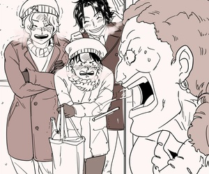 ace, dada, and one piece image