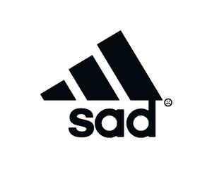 sad, adidas, and overlay image