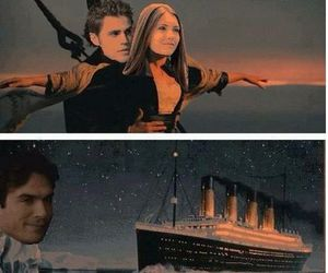 titanic, the vampire diaries, and tvd image