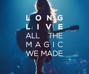 Taylor Swift, Lyrics, and long live image