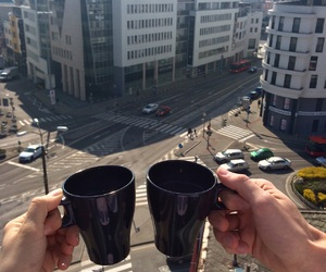 bratislava, capital, and coffee image