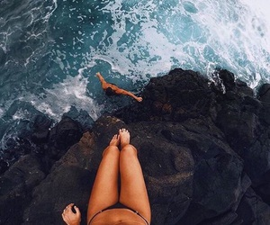 summer, goals, and beach image