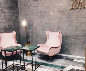 interior, pink, and theme image