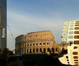 colosseum, pope, and rome image